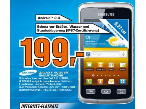 Samsung Galaxy Xcover (S5690) ©Saturn