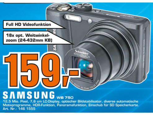 Samsung WB750 ©Saturn