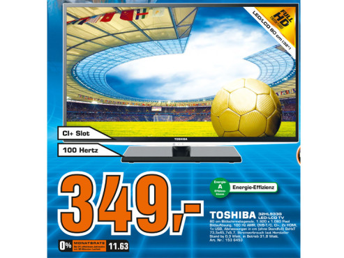 Toshiba 32HL933 ©Saturn
