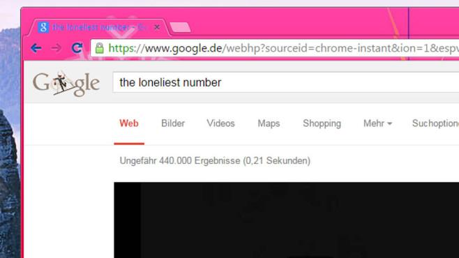 Google: The Loneliest Number ©COMPUTER BILD
