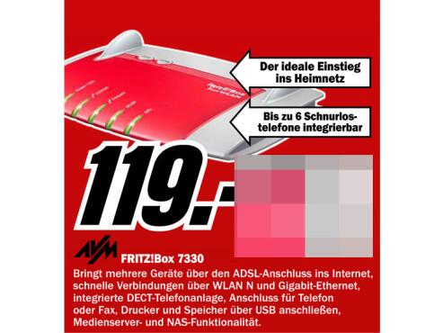 AVM Fritz!Box 7330 ©Media Markt
