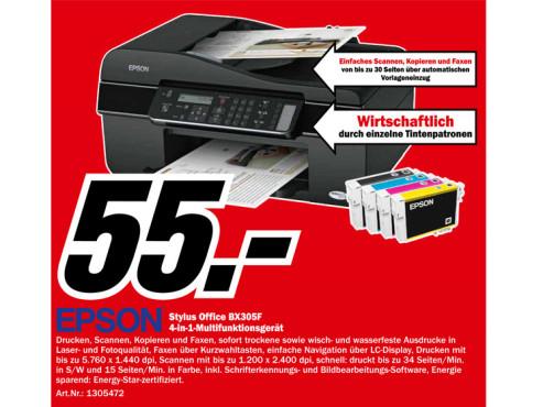 Epson Stylus Office BX305F ©Media Markt