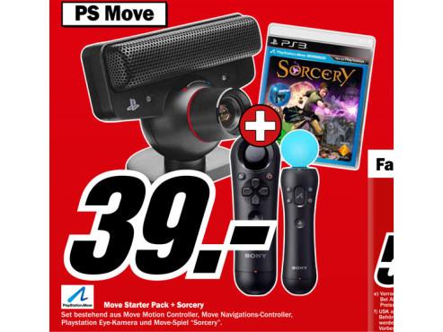 Sorcery + Move Pack 2 (PS3) ©Media Markt
