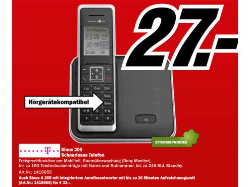 Telekom Sinus 205 ©Media Markt