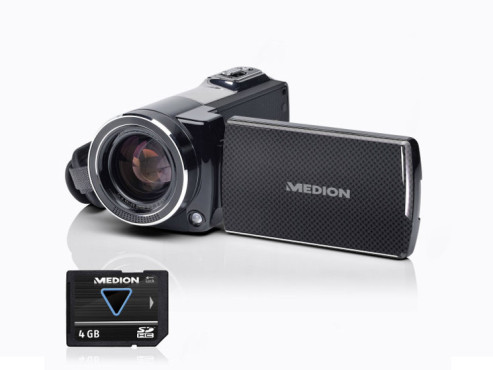 Medion Life P47011 (MD 86695) Full-HD-Camcorder © Aldi Nord
