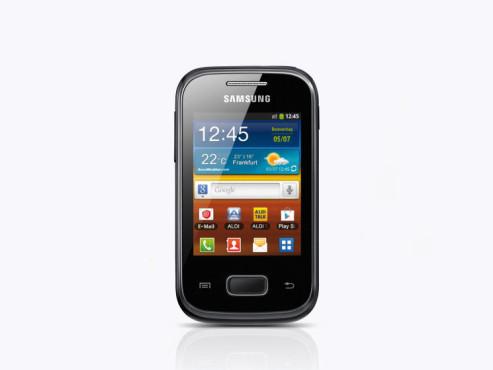 Samsung Galaxy Pocket GT-S5300 Smartphone ©Aldi Nord