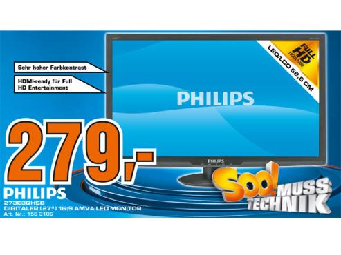 Philips 273E3QHSB ©Saturn