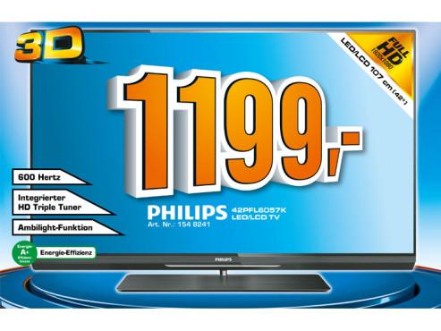 Philips 42PFL6057K ©Saturn
