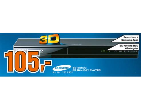 Samsung BD-E5500 ©Saturn