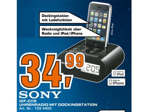 Sony ICF-C05iP ©Saturn