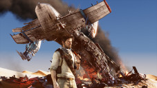 Actionspiel Uncharted 3: Flugzeug © Sony