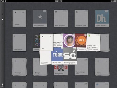 Screenshot: Reeder für iPad ©COMPUTER BILD