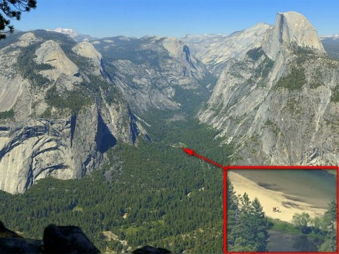 Yosemite Nationalpark © GigaPan