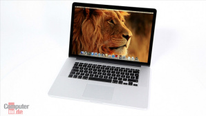 Apple MacBook Pro 15'' Retina © COMPUTER BILD