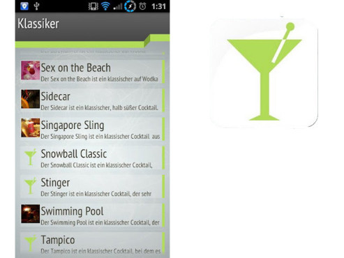 Die Cocktail-App ©HEROX-IT