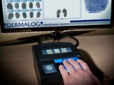 Fingerabdruckscanner ©Dermalog Identification Systems GmbH