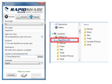 RapidDrive&nbsp;&copy;&nbsp;RapidShare AG