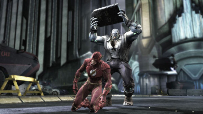 Prügelspiel: Injustice, The Flash, Solomon Grundy © Warner Bros. Entertainment