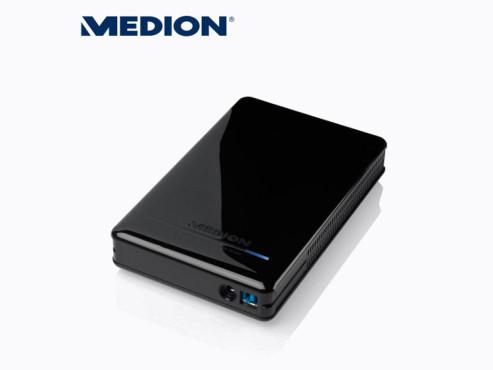 Medion P83772 (MD 90185) Externe Festplatte ©Aldi