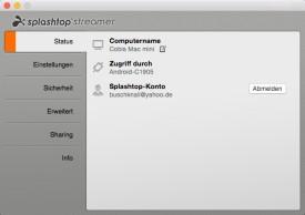 Screenshot 1 - Splashtop Streamer (Mac)