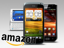 Amazon-Smartphones © HTC, Sony, Samsung, Amazon