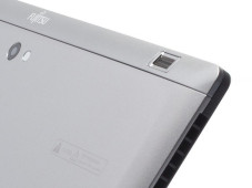 Business-Tablet: Fujitsu Stylistic Q702 Sicher ist sicher: Der Fingerprintscanner funktioniert tadellos. &nbsp;&copy;&nbsp;COMPUTER BILD