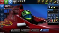 Browserspiel F1 Online – The Game: Helm © Codemasters
