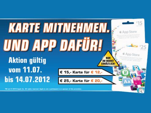 AppStore-Gutschein ©Saturn