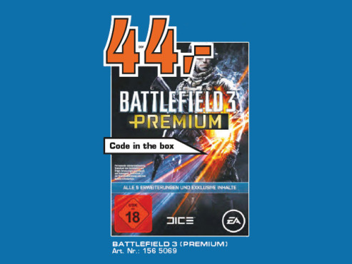 Battlefield 3: Premium (Add-on) © Saturn