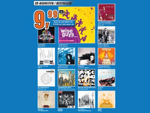 CD-Neuheiten ©Saturn