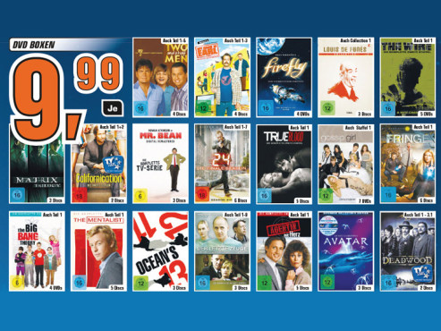 DVD-Boxen ©Saturn