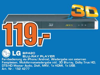 LG BP420 ©Saturn