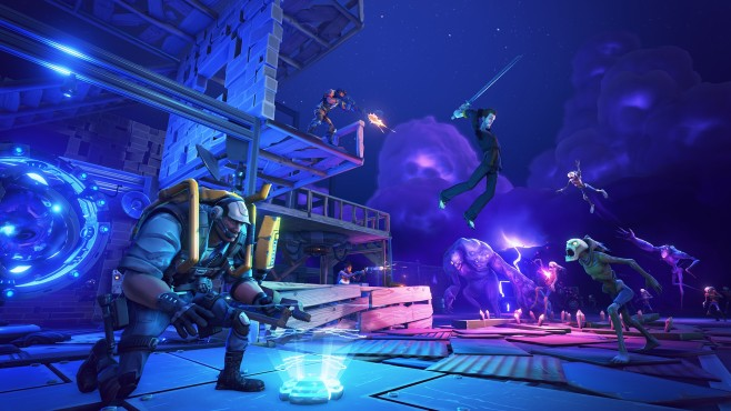 Actionspiel Fortnite: Basis © Epic Games