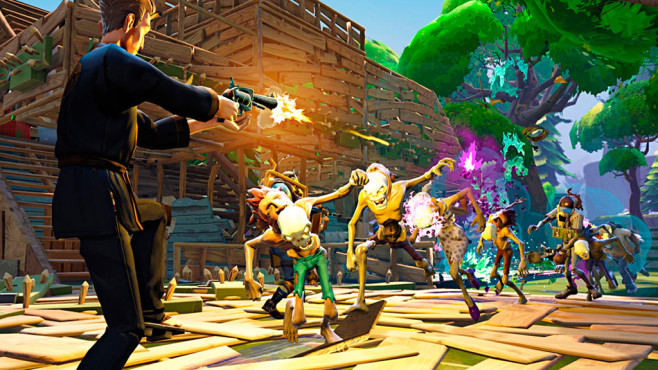 Actionspiel Fortnite: Dschungel © Epic Games