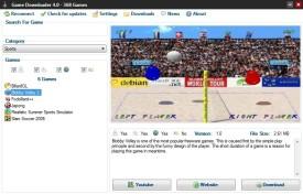 Screenshot 1 - Game Downloader