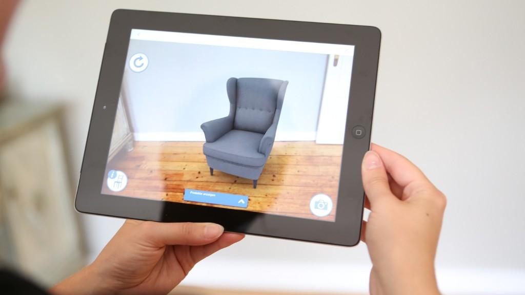katalog der zukunft ikea prospekt 2013 mit augmented reality computer bild. Black Bedroom Furniture Sets. Home Design Ideas