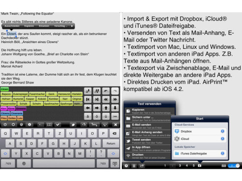 Screenshot Textkraft © COMPUTER BILD