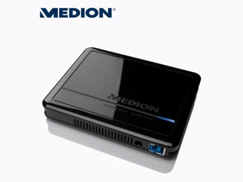 Medion P82742 (MD 90184) externe Festplatte (erhältlich ab 30. Juli bei Aldi Nord) ©Aldi Nord