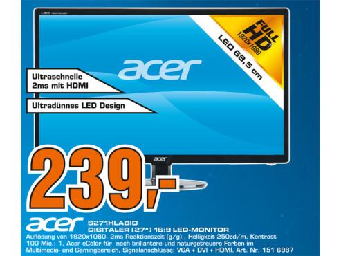 Acer S271HLAbid ©Saturn