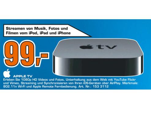 Apple TV (dritte Generation) ©Saturn