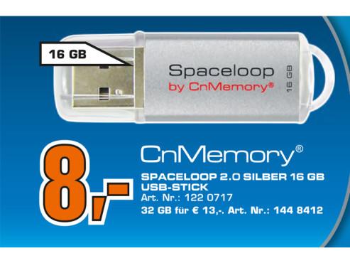 CnMemory Spaceloop 16GB ©Saturn