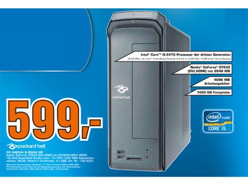 Packard Bell iMedia S I5634 GE ©Saturn