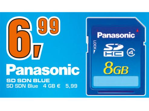 Panasonic SDHC Card 8 GB Class 4 ©Saturn