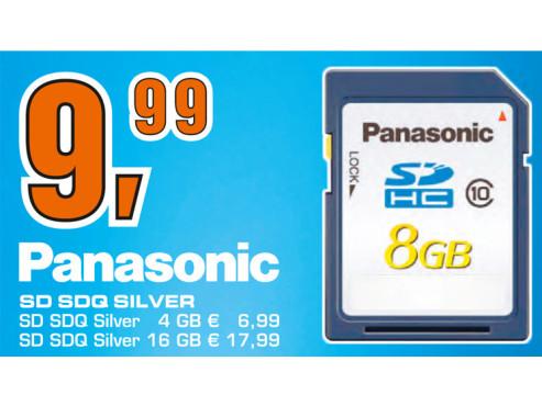 Panasonic Silver SDHC 8GB Class 10 Card ©Saturn
