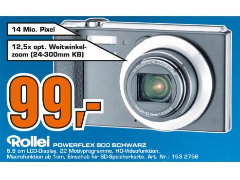 Rollei Powerflex 800 ©Saturn