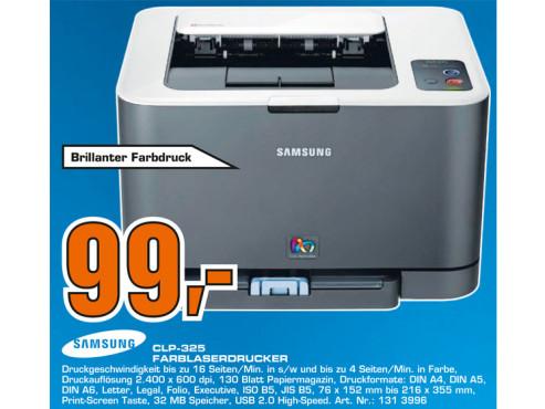 Samsung CLP-325 ©Saturn