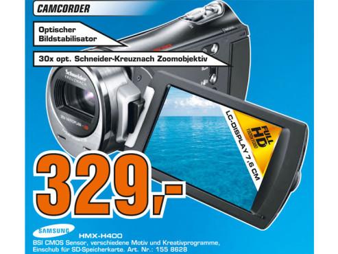Samsung HMX-H 400 ©Saturn