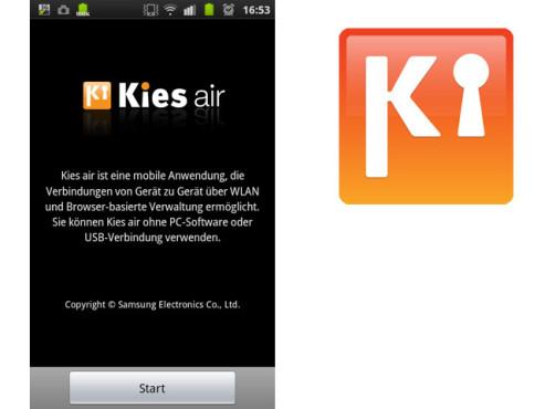 Kies Air ©Samsung Electronics MSDG