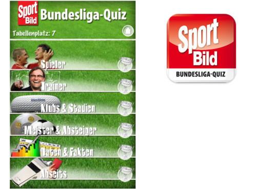 SPORT BILD Bundesliga-Quiz ©AUTO BILD