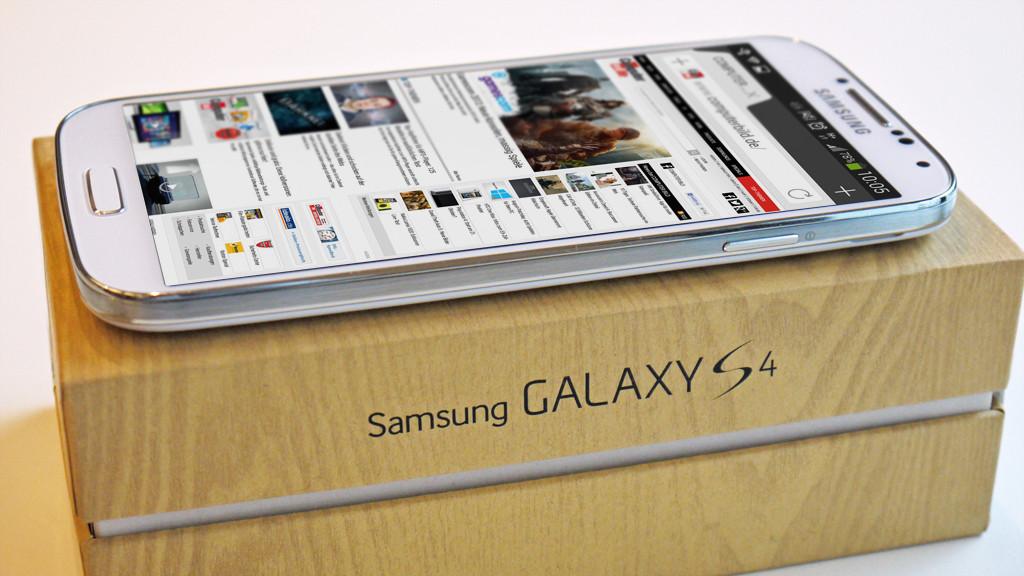 Samsung Galaxy S4 ©COMPUTER BILD